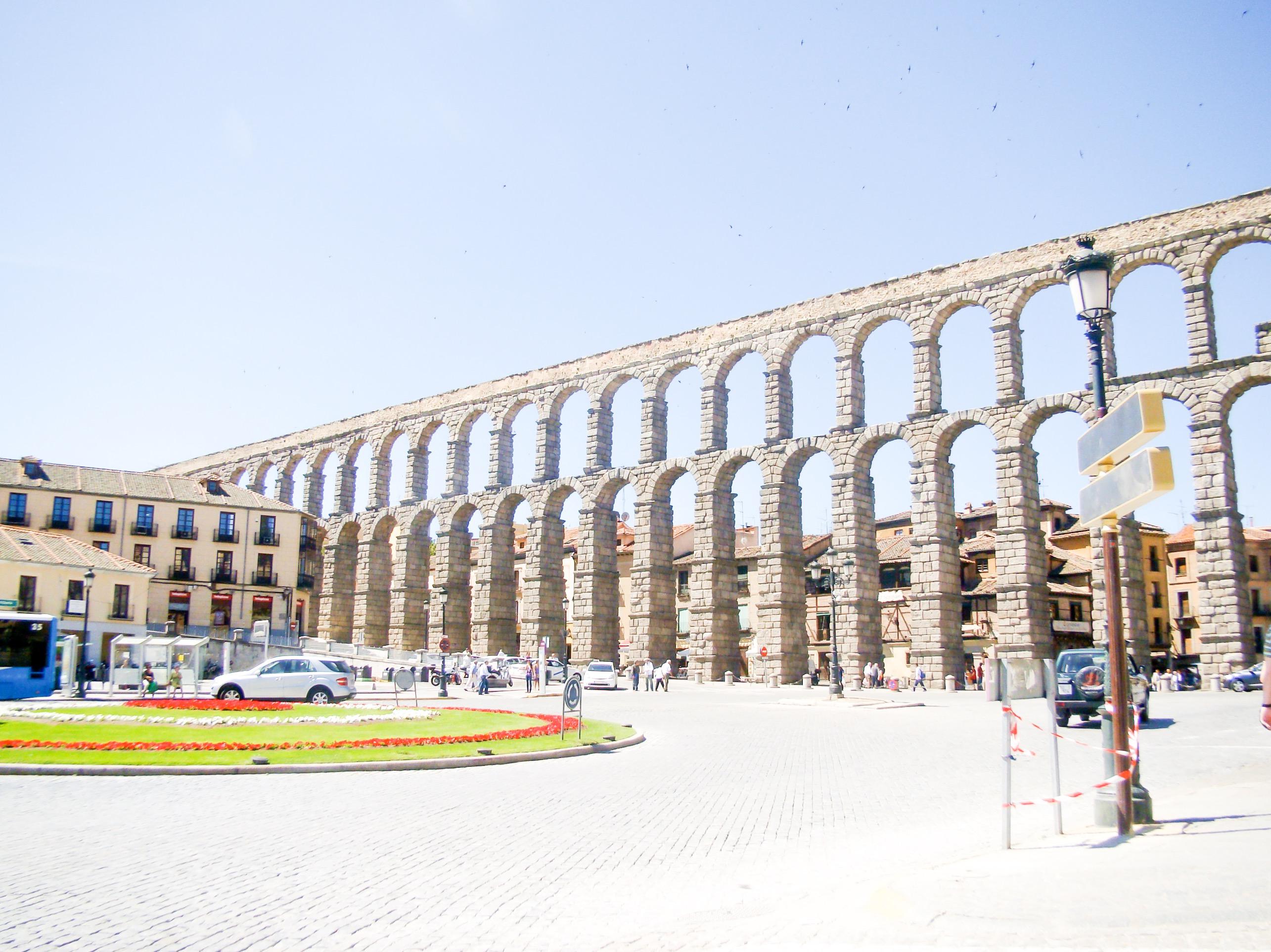 Acueducto Romano en Segovia