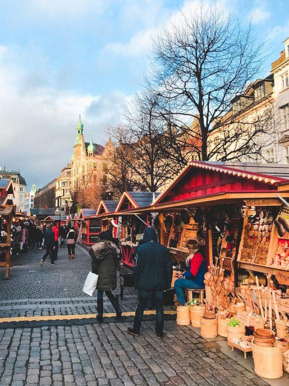 Copenhague Dinamarca en navidad